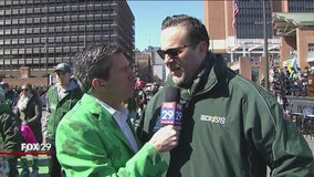 IBEW Local Union 98 represents at St. Patrick's Day Parade