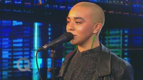 Knyves Escobar performs on The Q Show