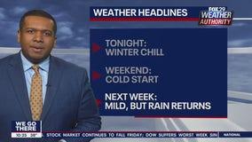 FOX 29 Weather Authority: 7-Day Forecast