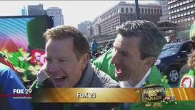 The FOX 29 team joins in on the St. Patrick's Day festivities