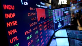 Stocks fall on Wall Street amid coronavirus fears, putting market on track for worst week since 2008