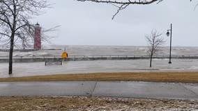 High water levels are wreaking havoc in the Great Lakes, swamping communities