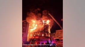 Fire rips through Elizabeth, NJ church; investigators search for cause