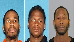 3 men charged with attempted murder for allegedly firing gun at police officer in Trenton
