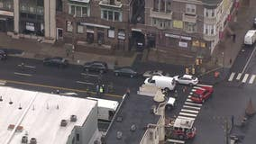 Crews on scene of gas leak in North Philadelphia
