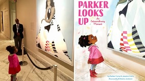 'Parker Looks Up': Book captures viral moment with Michelle Obama portrait