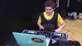Boy with autism joins Moorestown basketball team as DJ