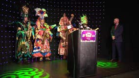 Mummers promote upcoming Mardi Gras event, address controversy