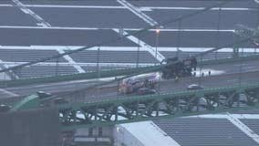 All lanes reopened on Walt Whitman Bridge after truck fire