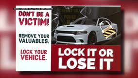 Police: 10 cars stolen while left running unattended in Cherry Hill over past 10 weeks