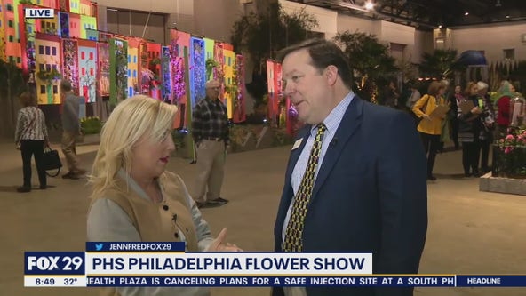 PHS Philadelphia Flower Show kicks off with tropical flare
