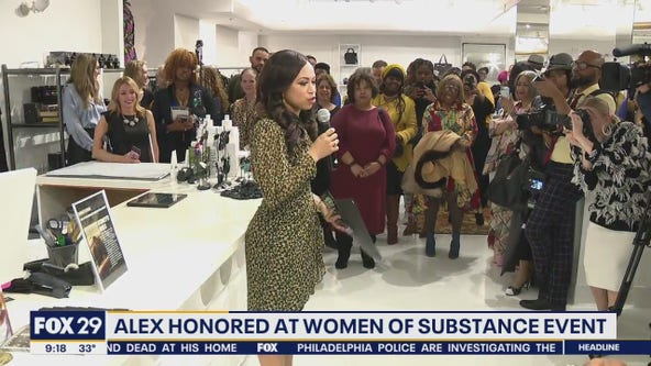 Alex Holley honored as a 'Woman of Substance and Style' by Joan Shepp