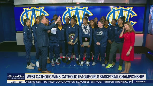 West Catholic girls basketball team wins first Catholic League Championship in 20 years