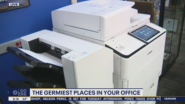 How to protect yourself from the grimiest places in your office