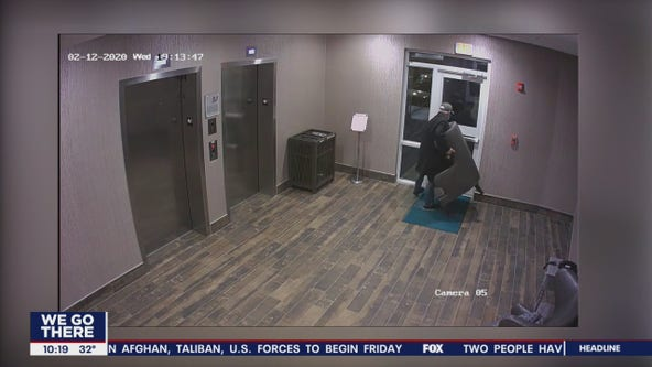 Caught on Camera: Man steals chair from hotel in Plymouth Meeting