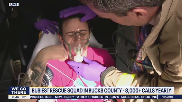 Bob on the Job: Fairless Hills/Levittown rescue squad in Bucks County