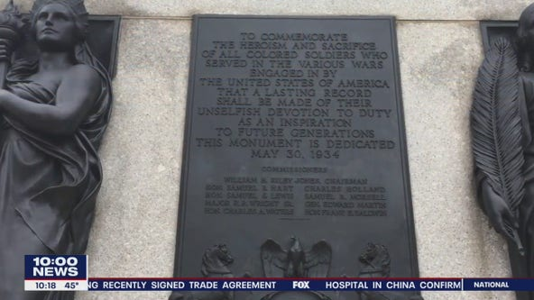Local veteran encourages people to visit Philadelphia's All Wars Memorial