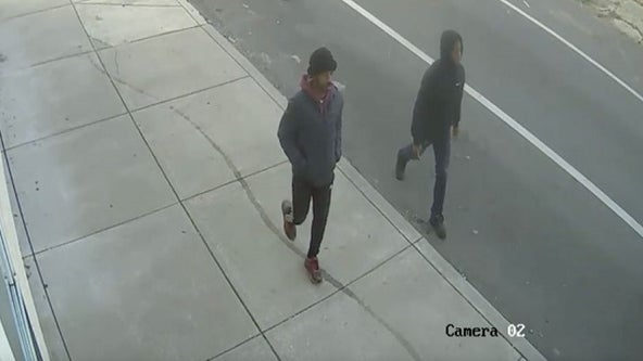 Police release surveillance video of suspects wanted in North Philadelphia fatal shooting