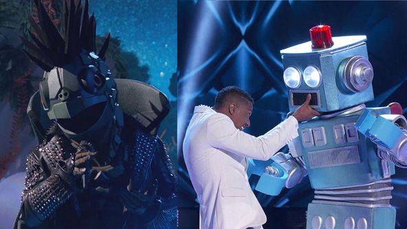 The Turtle breaks out of his shell as the Robot short circuits on season 3 of 'The Masked Singer'