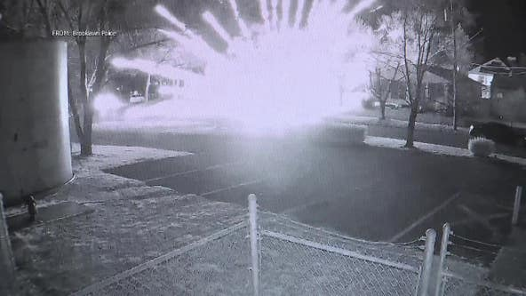 Police: Fireworks thrown from moving cars onto lawn of NJ home