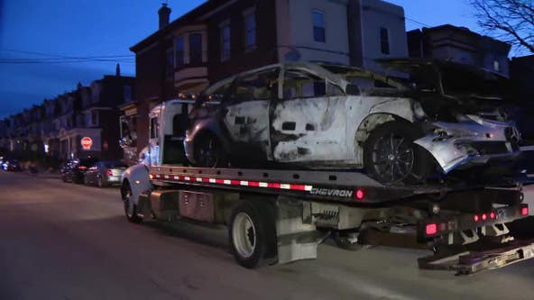 Body found burned beyond recognition inside torched car in Logan