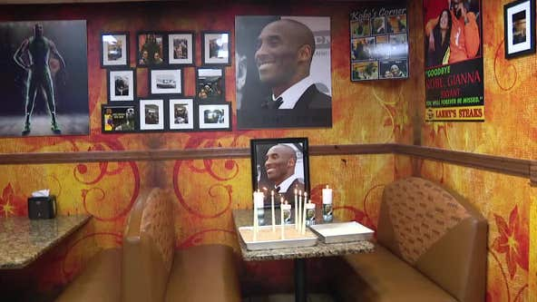 Philadelphia fans light candles, remember Kobe Bryant with favorite cheesesteak
