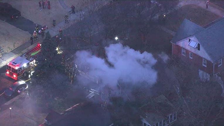 Ryers Avenue fire