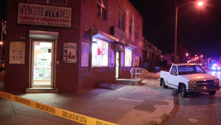 Wyncote Avenue shooting