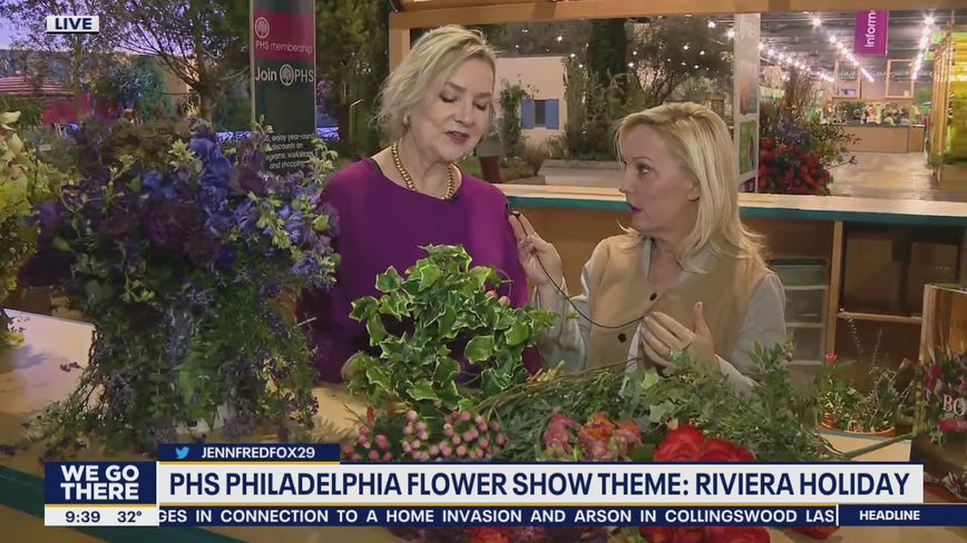 Chief White House Floral Designer discusses career on Good Day