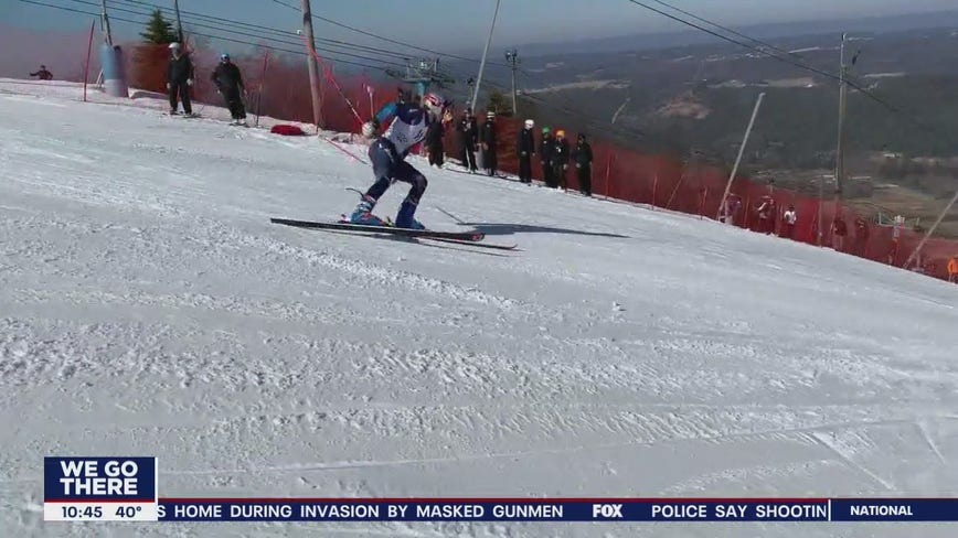 FIS alpine races held at Blue Mountain