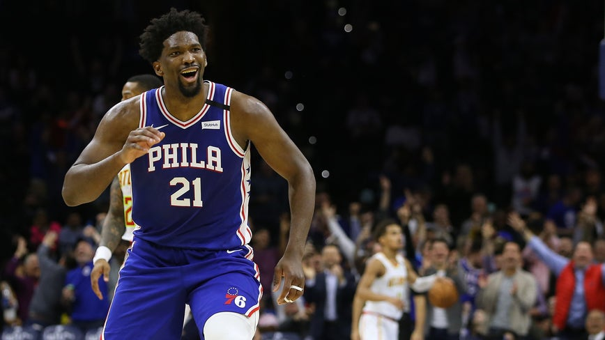 Joel Embiid fined $25K for flipping off Hawk, cursing on air