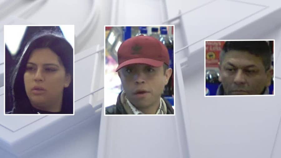Police search for trio accused of pickpocketing 70-year-old woman in Lower Makefield Township
