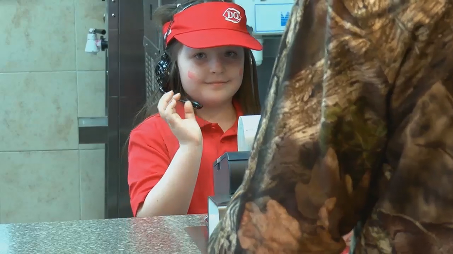 Allie has been diagnosed with Moyamoya, a rare brain disease that causes her to have strokes.