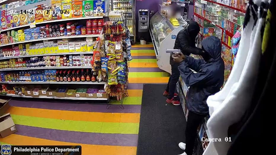 Armed robbery at New Family Food Market on Belmont Avenue in West Philadelphia