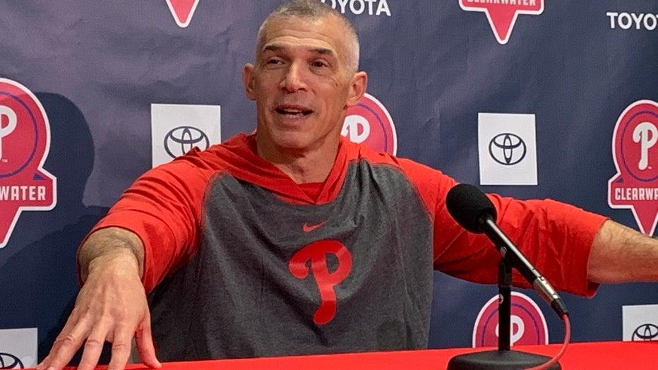 Philadelphia Phillies Manager Joe Girardi