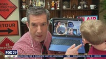 Bob Kelly shows off son's virtual school lessons on Good Day Philadelphia