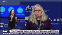 Pennsylvania health officials hold press conference on COVID-19 pandemic