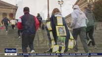 Philadelphia principal fulfills promise, runs Rocky Steps after students raise $25K