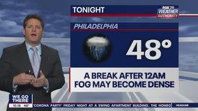 Weather Authority: Saturday night update