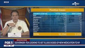 NY now has more than 10,000 coronavirus cases