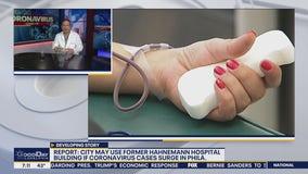 Report: City may use Hahnemann Hospital if coronavirus cases surge in Philadelphia