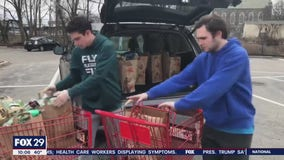 2 Montgomery County brothers shop for neighbors in an effort to help the community