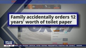 Click This: Family accidentally orders 12 years' worth of toilet paper