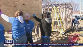 Strong women helping strong women rebuild lives through building homes in Penns Grove