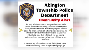 Police in Montgomery County are alerting delivery drivers to possible scam involving vehicles being stolen