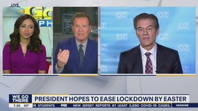 Dr. Oz discusses Trumps hopes to ease lockdown by Easter, latest research for COVID-19