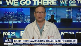 Study: Coronavirus can remain in air for 3 hours