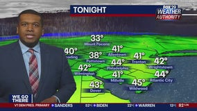 FOX 29 Weather Authority 7-day forecast 10 p.m.