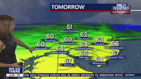 Weather Authority: Sunshine returns Monday with warmer temperatures