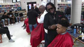 NJ high school hosts barbershop events to guide students, connect community
